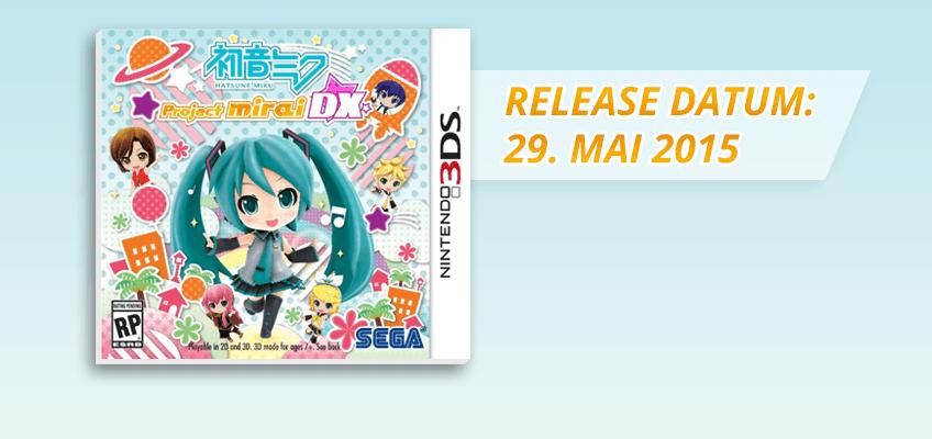 Project Mirai DX Release Datum