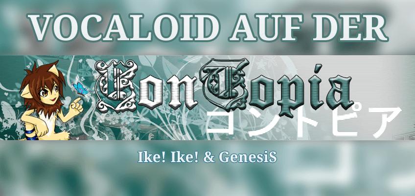 Vocaloid auf der Contopia