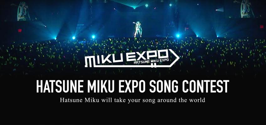 Vocaloid Hatsune Miku Expo Song Wettbewerb