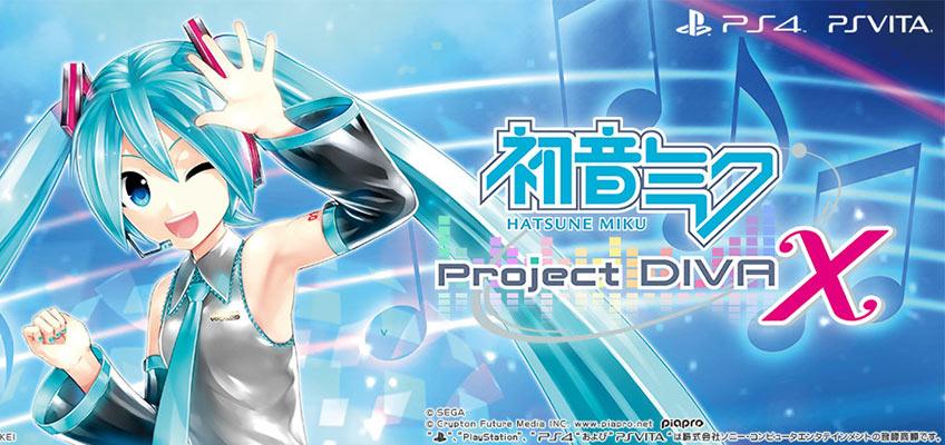 Vocaloid Hatsune Miku Project Diva X Titelsong