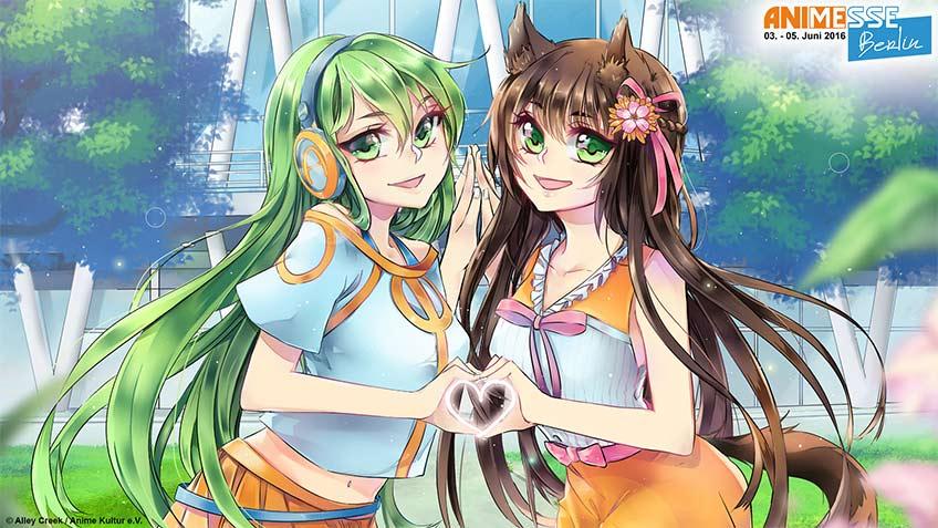 AHS Vocaloids auf der Anime Messe Berlin vom 03. bis 05. Juni 2016